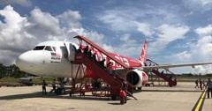 エアアジアの航空機